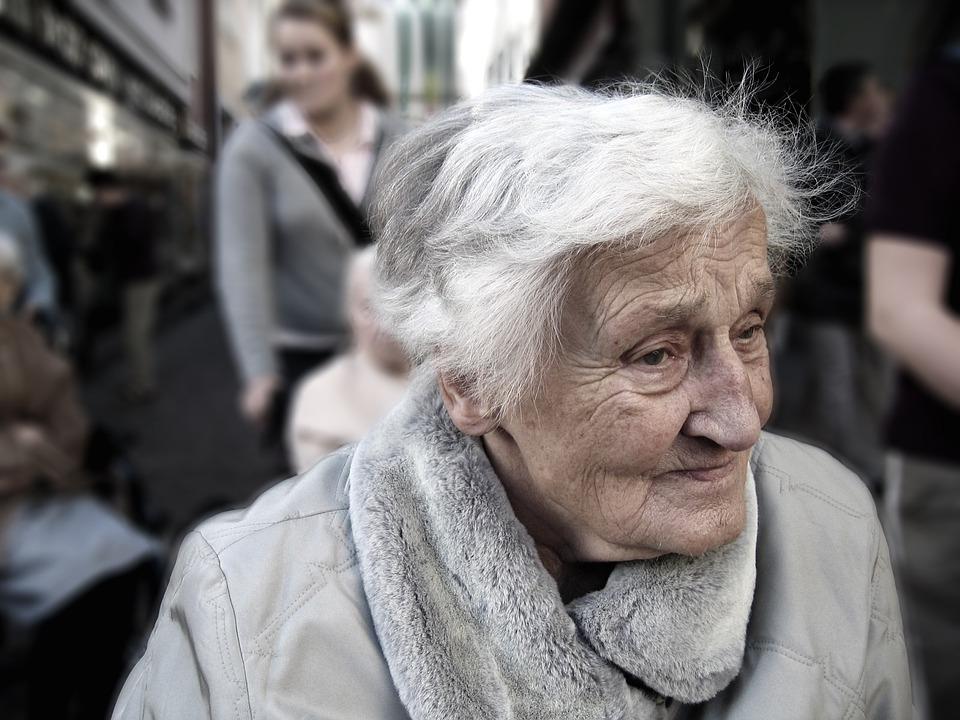vrouw dementie